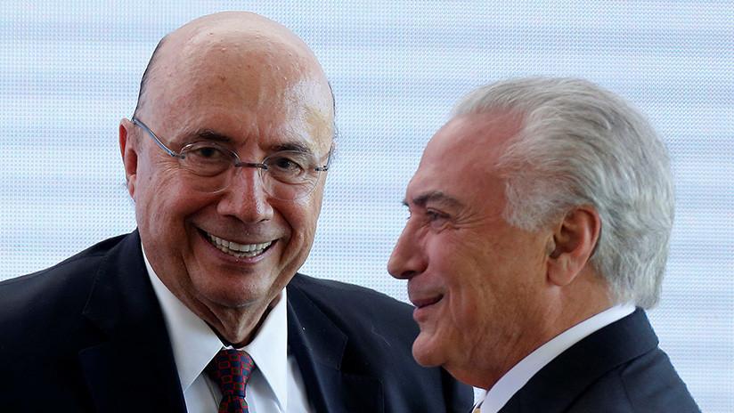 Temer lanza a su exministro de Hacienda como candidato a las presidenciales de Brasil