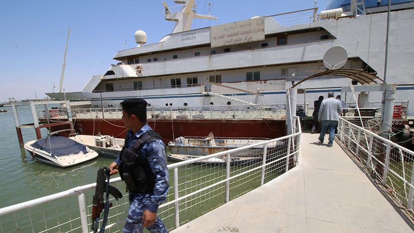 FOTOS: El lujoso yate de Saddam Hussein se convierte en un hotel para marineros