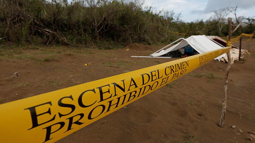 México: Tres cabezas humanas aparecen en Veracruz con un mensaje delictivo (FOTO)