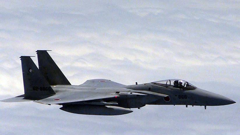 Un caza F-15 japonés aterriza de emergencia en una base aérea estadounidense