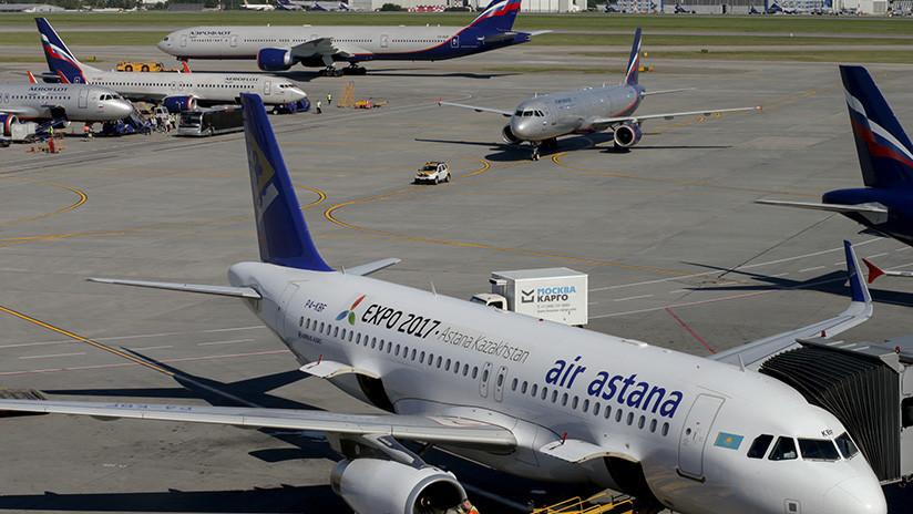 VIDEO: Airbus realiza dramático aterrizaje de emergencia en medio de una tempestad