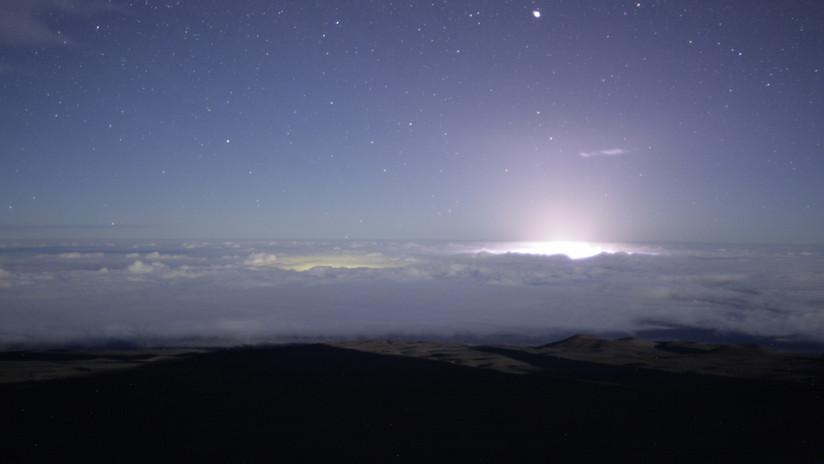 VIDEO: Un espectacular 'timelapse' muestra la erupción del Kilauea desde el punto más alto de Hawái