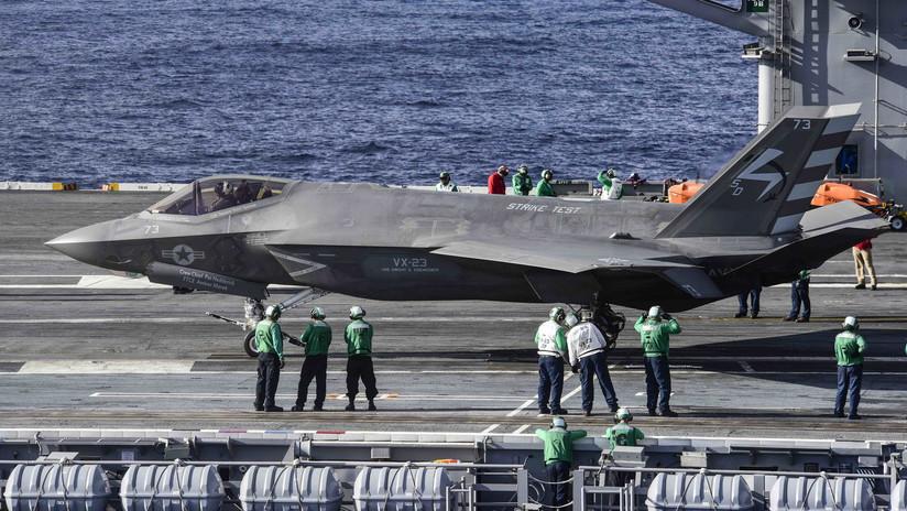 Marina de EE.UU. baraja dos tácticas de uso para sus F-35 y ambas son malas