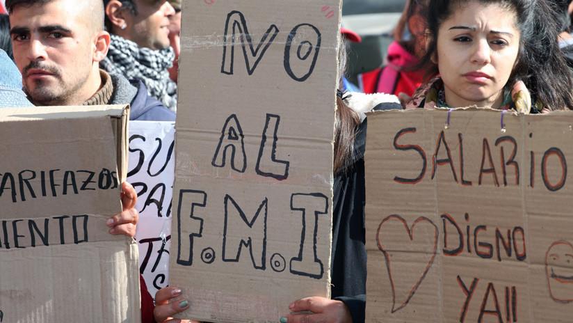 'La patria está en peligro': Argentina protesta de nuevo contra el acuerdo con el FMI