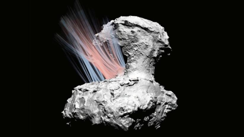 Explican el origen de las emisiones del cometa Churyumov-Gerasimenko