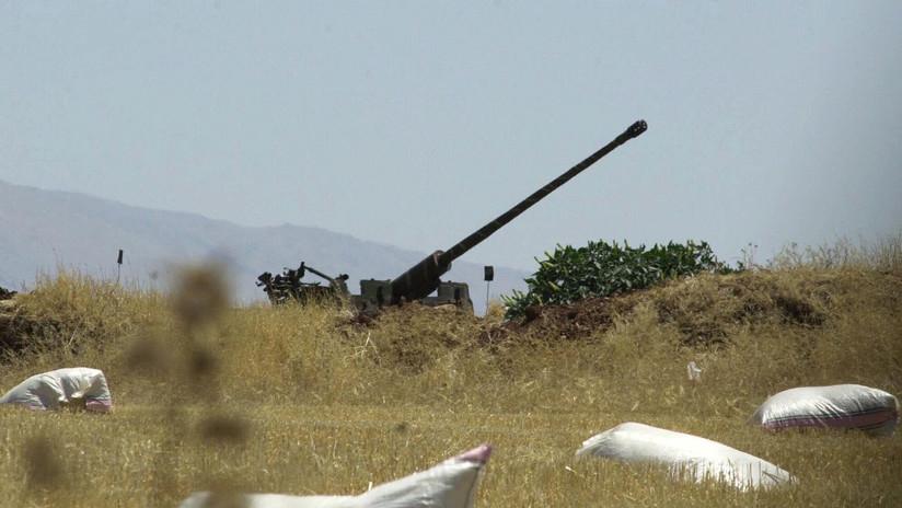 Reportan un ataque con misiles contra un aeropuerto militar de la provincia siria de Homs