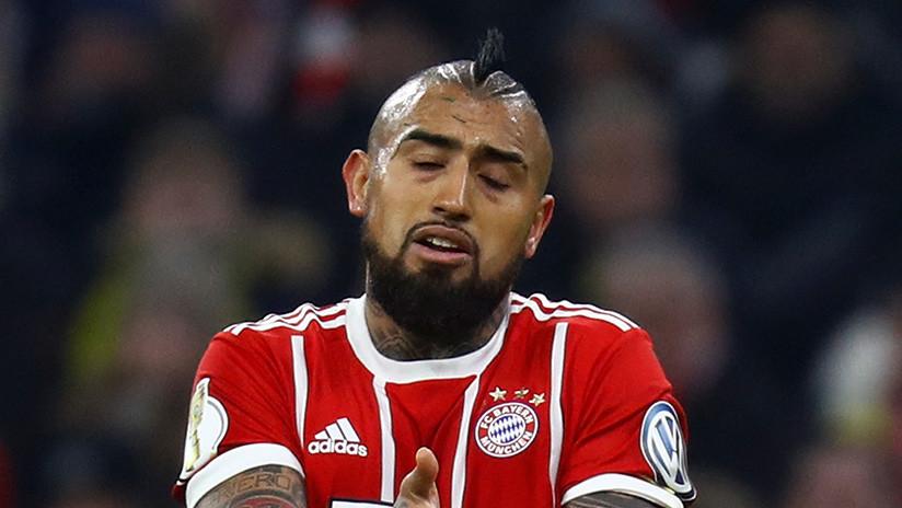 """Arturo Vidal podría ir a la cárcel en Alemania por """"golpes y lesiones graves"""""""