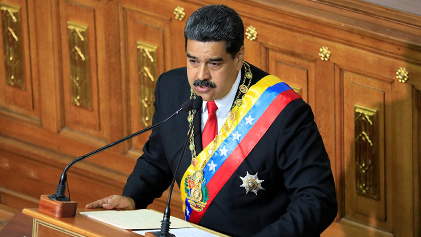 "Maduro acusa a EE.UU. de ""financiar la fractura"" de la Fuerza Armada Nacional Bolivariana"