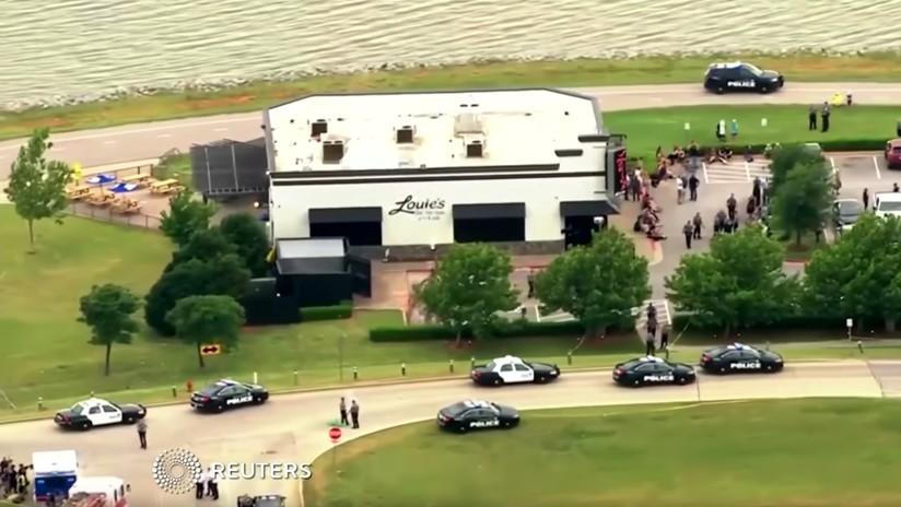 Transeúnte mata a tiros a un hombre que disparó en un restaurante de Oklahoma