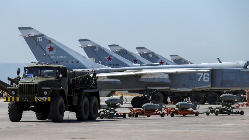Rusia actualiza varios tipos de aeronaves que han participado en operaciones en Siria