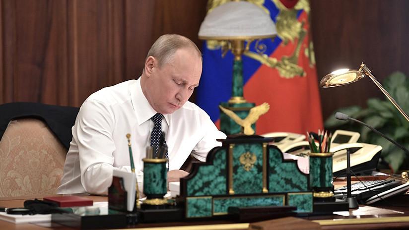 """""""No más de dos plazos consecutivos"""": Putin dice que no participará en las próximas presidenciales"""