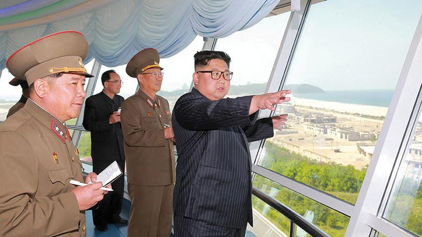 Kim Jong-un inspeccionó la construcción de instalaciones turísticas en Wonsan