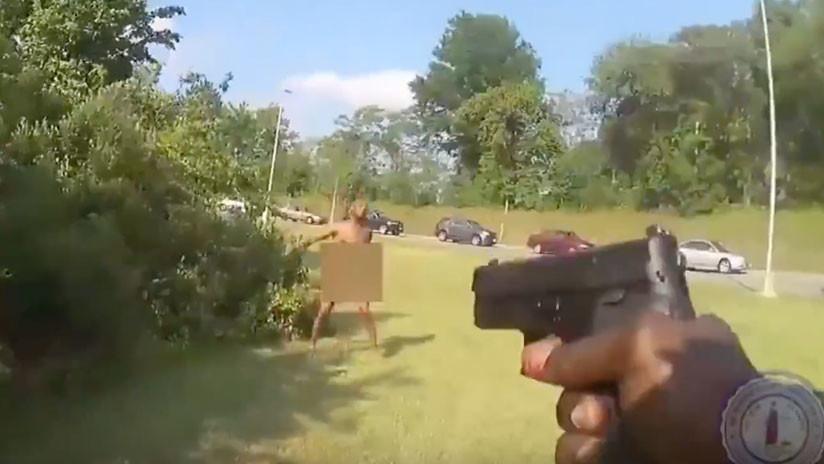 FUERTE VIDEO: Un policía mata a tiros a un afroamericano desnudo en EE.UU.