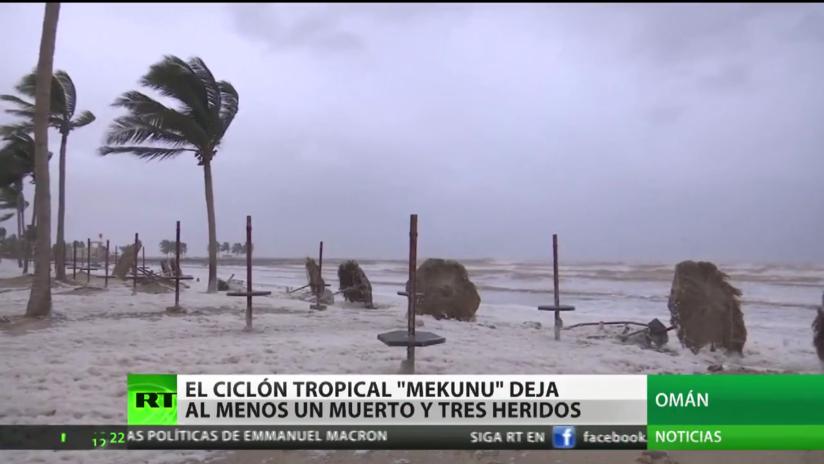 """""""Extremadamente severo"""" ciclón Mekunu deja 5 muertos y 30 desaparecidos en Omán y Yemen (VIDEO)"""