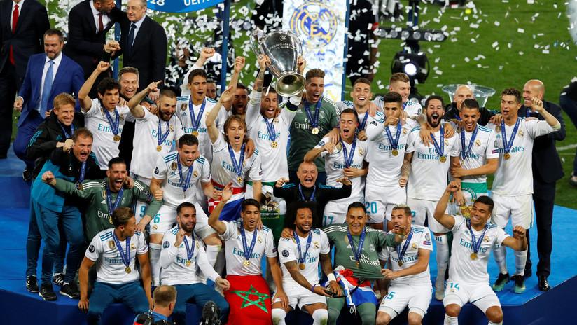 Final de infarto: El Real Madrid vence al Liverpool 3-1 y consigue su decimotercera Champions