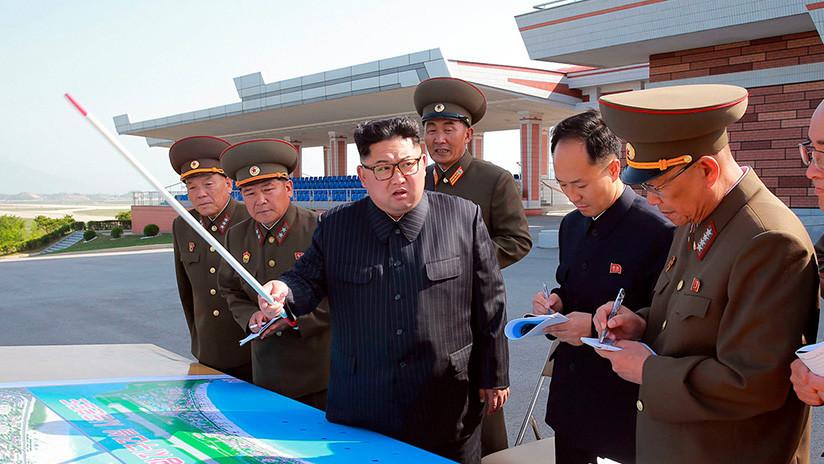 """Kim Jong-un anuncia su """"voluntad firme"""" de reunirse con Donald Trump"""