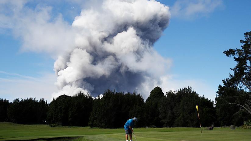 Una serie de terremotos sacude la zona del volcán Kilauea en Hawái