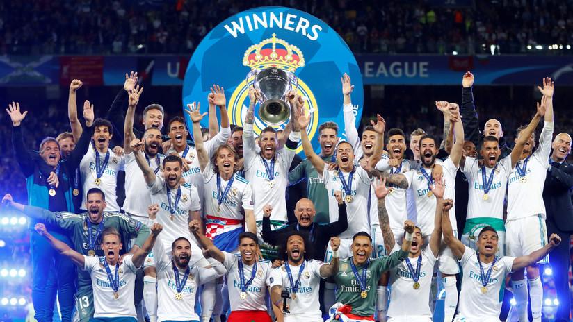 VIDEO: Así fue la celebración del Madrid en el vestuario tras ganar la 'Champions'