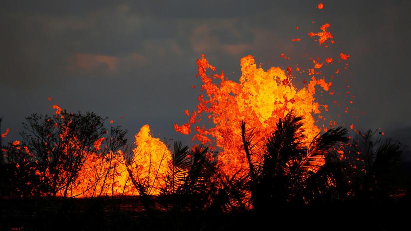 VIDEO: La lava del Kilauea causa riesgo de explosión tóxica al entrar en una planta geotérmica
