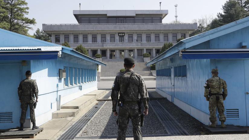 Delegación de EE.UU. y funcionarios norcoreanos abordan en Panmunjom la próxima cumbre Trump-Kim