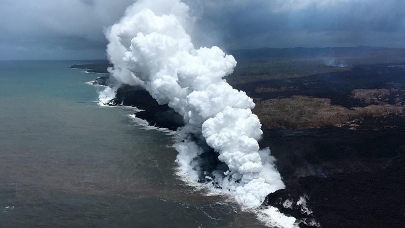 La niebla volcánica de Hawái cubre las Islas Marshall
