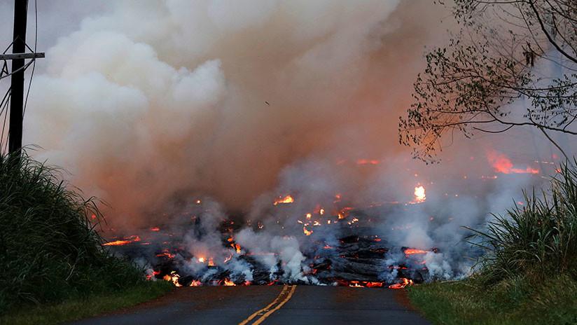 Otra alerta para Hawái: El lava del volcán Kilauea cubre el pozo de una planta geotérmica