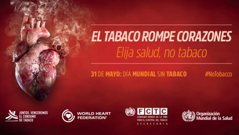 La OMS celebra el Día Mundial Sin Tabaco con una impactante infografía