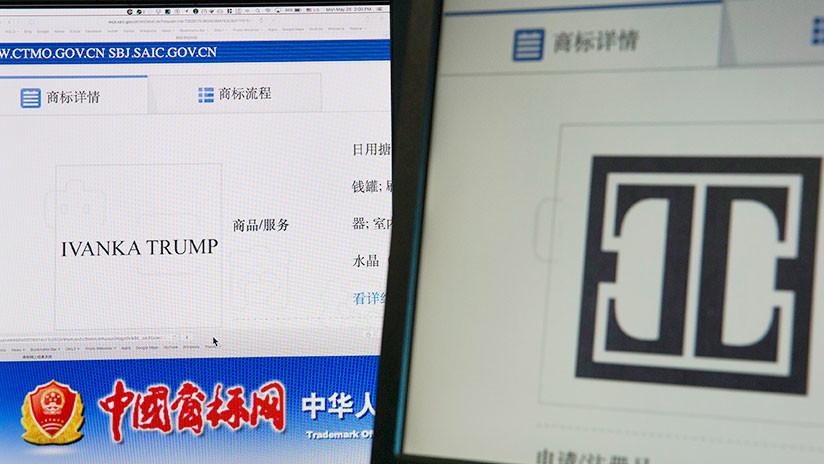 China aprueba 13 marcas para la empresa de Ivanka Trump en tres meses
