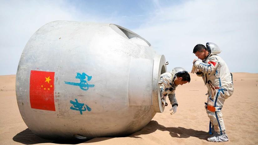 19 días en el desierto: Astronautas chinos cumplen un entrenamiento de supervivencia (VIDEO, FOTOS)