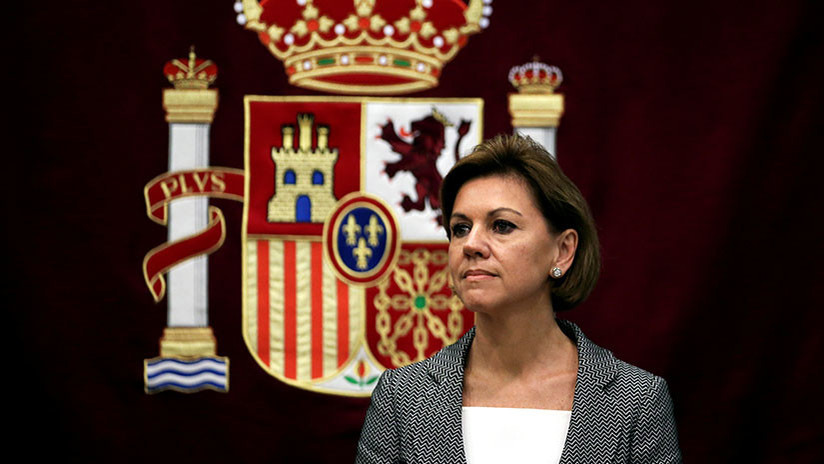 """La secretaria general del PP sobre la financiación ilegal del partido de Rajoy: """"Eso no es verdad"""""""