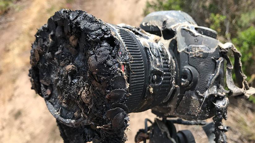 ¿Qué pasó realmente con la cámara de la NASA 'asada' durante el lanzamiento del Falcon 9?