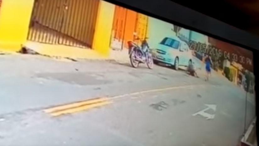 Mujer asesina a su marido policía tras hallarlo con su amante en un hotel de Brasil (VIDEO 18+)