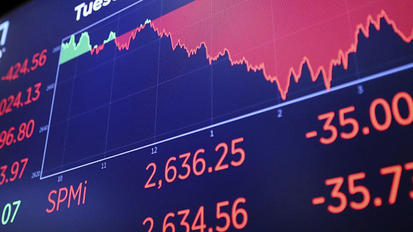 El índice Dow Jones cae 500 puntos