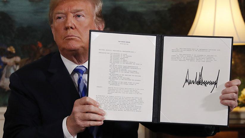 Rusia: Con su salida del acuerdo nuclear EE.UU. buscaba la confontación total con Irán