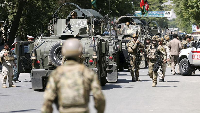 Explosión y disparos cerca del Ministerio de Interior en Kabul