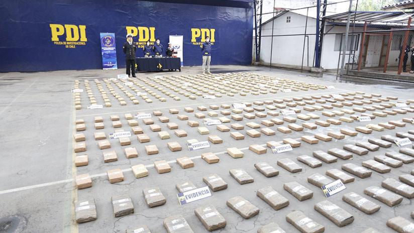 'Operación Atlántida': Cargan 600 kilos de droga en un barco, casi lo hunden y los capturan en Chile