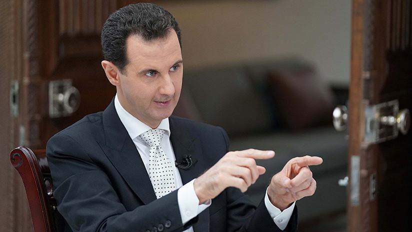 """""""Eres lo que dices"""": Assad revela en una entrevista con RT qué sintió cuando Trump lo llamó """"animal"""""""
