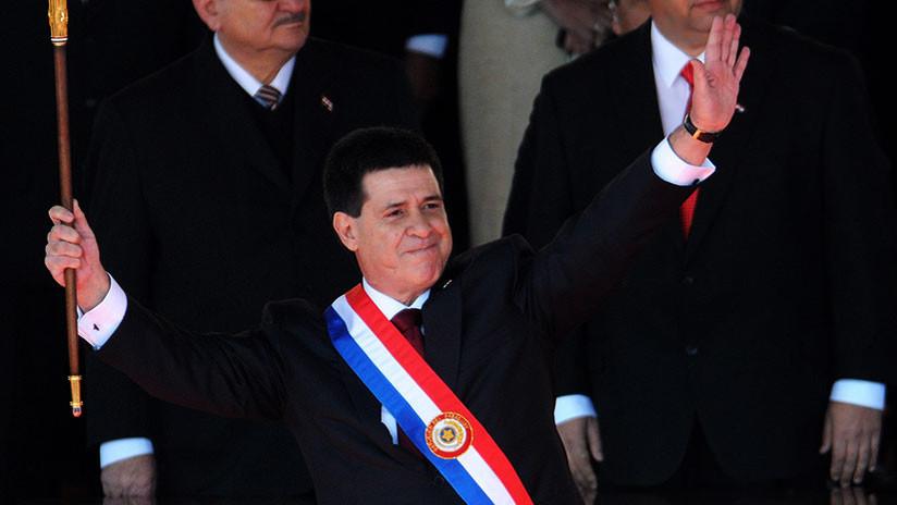El presidente Horacio Cartes seguirá en la Presidencia de Paraguay