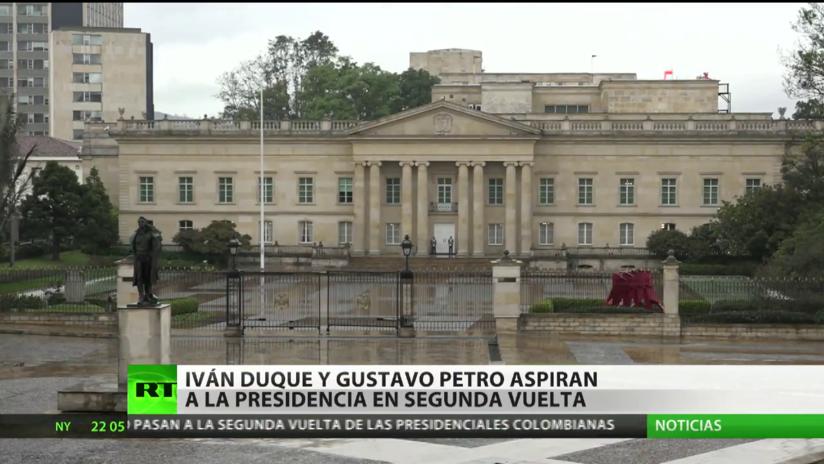 Colombia: Iván Duque y Gustavo Petro aspiran a la presidencia en la segunda vuelta