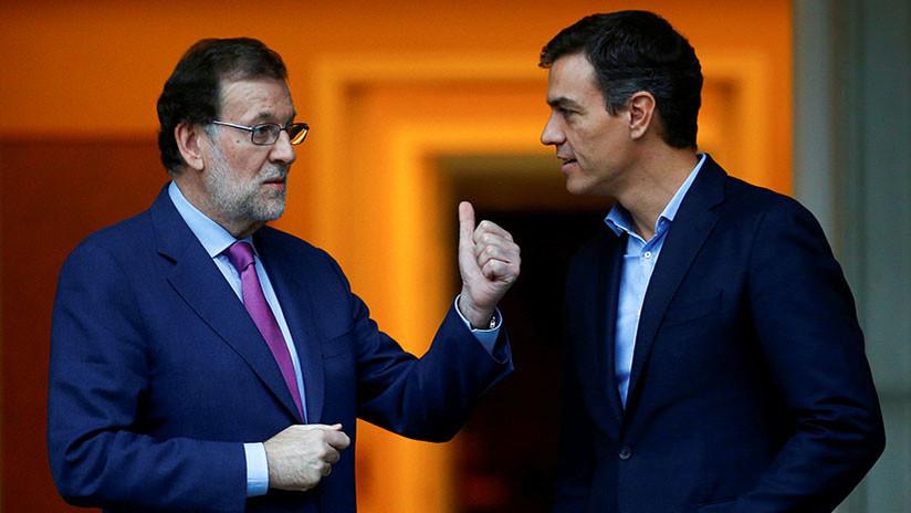 """Pedro Sánchez: """"Dimita, señor Rajoy, su tiempo acabó"""""""