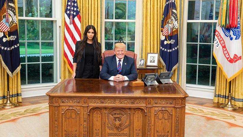 ¡Trump se reúne con Kim!.... Kardashian