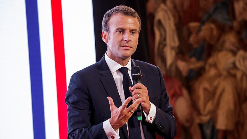 """Macron: Los aranceles de EE.UU. contra la UE son """"ilegales"""""""