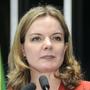 Gleisi Hoffman, senadora y presidenta del PT de Brasil