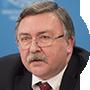 Mijaíl Uliánov, representante permanente de Rusia ante el OIEA