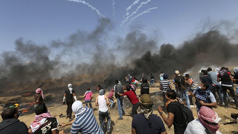 58 muertos y 2.771 heridos: Masacre en la frontera Israel-Gaza por traslado de la Embajada de EE.UU. 5af9503008f3d993268b4567