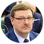Konstantín Kosachov, jefe del Comité de Asuntos Internacionales del Consejo de la Federación