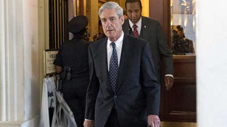 El abogado Robert Mueller después de una reunión en el Capitolio de EE. UU. en Washington, DC, el 21 de junio de 2017.