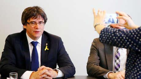 Carles Puigdemont, expresidente de Cataluña.