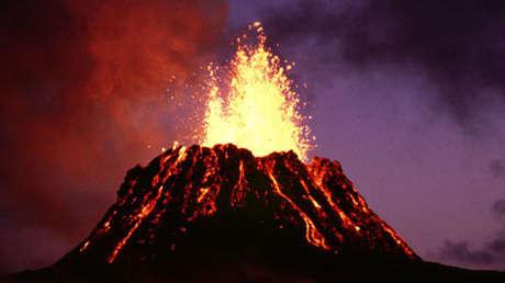 El volcán Kilauea (Hawái, EE.UU.)