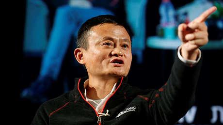 Jack Ma, presidente y fundador de la plataforma de comercio electrónico Alibaba.